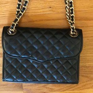 Rebecca Minkoff Black quilted affair bag